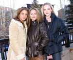 Actress / co-writer Nikki Reed, Holly Hunter and Evan Rachel Wood